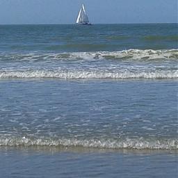 see blue bluesky waves freetoedit