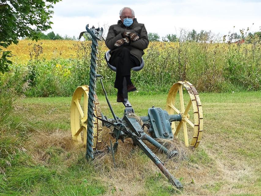 #photo#farm#tractor#Bernie#freetoedit#country#machine