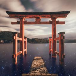 stars water universe temple freetoedit