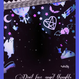 freetoedit neon black devil shadow pastelgoth cyber webcore emo alt goth devilgirl