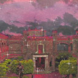 castle pink enchanted fantasy cute glitter edit replay freetoedit