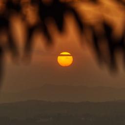 freetoedit photography sunset landscape red nature beautifulsky local