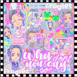 freetoedit frogllet anime animeedit demonslayer kimenstunoyaiba yushiro ladytamayo inosuke tanjiro kamado zenitsu nezuko shinobu kocho shinobukocho