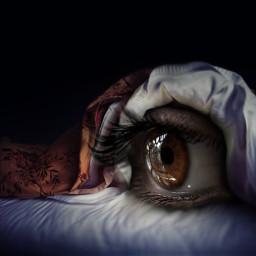 sleep horror blanket night freetoedit local