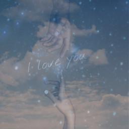 replay useit edit glitter sky cloud galaxy iloveyou freetoedit local
