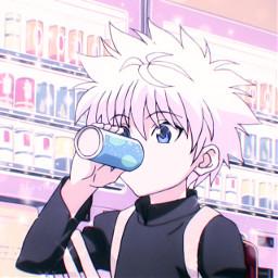 killua killuahunterxhunter killuaedit hunterxhunter hunterxhunterkillua animeboy animeglittericon glittericon fujis4ma
