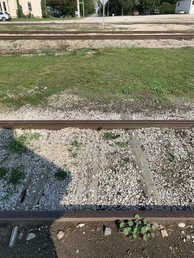 #Across the tracks i go-