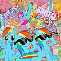 mylittlepony rainbowdash freetoedit default