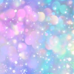 freetoedit glitter sparkle galaxy sky stars bokeh bubbles shimmer pattern pink blue purple colorful cute pastel kawaii aesthetic overlay background wallpaper