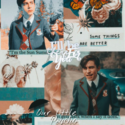 freetoedit theumbrellaacademy numberfive aidangallagher wallpaper aesthetic local