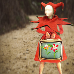 journey flowers tv red