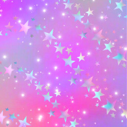 freetoedit glitter sparkle galaxy sky stars pattern pastel pink colorful neon bling holographic aesthetic cute kawaii space overlay background wallpaper