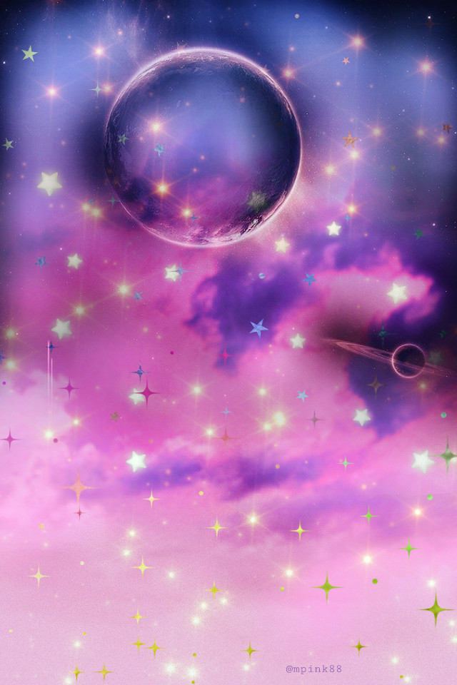 #freetoedit @mpink88 #glitter #sparkle #galaxy #sky #stars #space #moon #planets #colorful #night #clouds #nature #landscape #colorful #neon #aesthetic #overlay #background #wallpaper