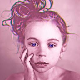 freetoedit portrait girl purpleeyes girlportrait childhood stunningeyes sepiaportrait sepia fuschiablue eyes