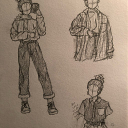drawing clothing