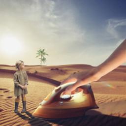 desert surrealism iron noiseeffect picsartchallenge freetoedit ircthereachinghand thereachinghand