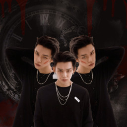 lulus_infires_contest yeonjun aesthetic black darkaesthetic ily freetoedit