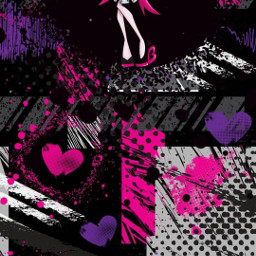 pink purple monsterhigh freetoedit local