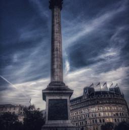 london trafalgarsquare hdr hdrphotography hdreffect