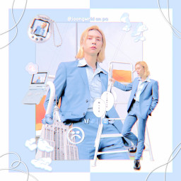 freetoedit johnny johnnyseo seojohnny nct nctzen blue cute aesthetic soft joongwrld kpop