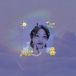 freetoedit felix straykids straykidsfelix straykidsyongbok yongbok music jyp summer september nature kpop korea sunshine felixsunshine people picsart tumblr cute