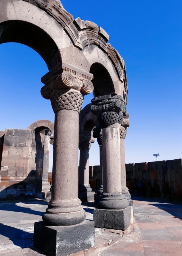 #oldbuilding #armenia #columns #architecture #building