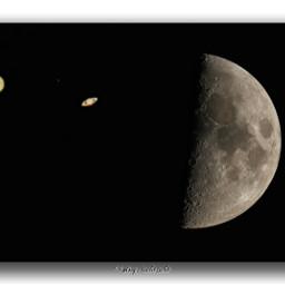 jupiter saturn moon september nature sky nightsky night planets space northgermany lowersaxony local canon7dmarkii sigma150600