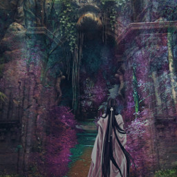 heypicsart myedit doubleexposure magical forest fantasy colorful picsarteffects freetoedit local