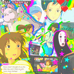 freetoedit studioghibli anime animegirl spiritedaway chihiro haku animeboy studioghiblicharecters