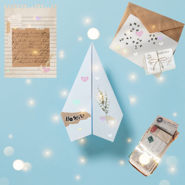 #letter #envolope #paper #postcards
