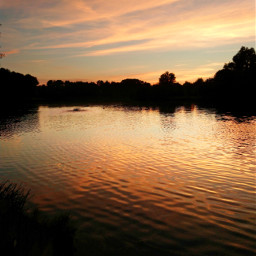 landscape evening freetoedit