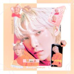 freetoedit yeosang kangyeosang ateez atiny 8makes1team yellow cute aesthetic soft joongwrld kpop