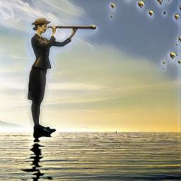 airballoon yelloweffect picsartchallenge freetoedit srcflyingairballoons flyingairballoons