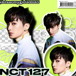 freetoedit sticker nct127 mark marknct marklee nctzen nct green aesthetic 100followers thankyou joonies kpop edit nctsticker
