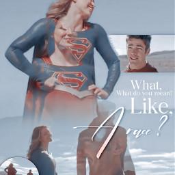 supergirl theflash barryallen karadanvers worldsfinest