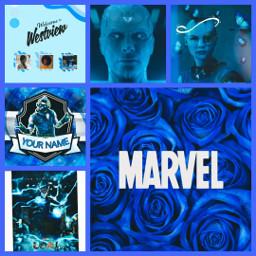 marvel ecblueaesthetic blueaesthetic