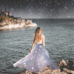 glitter magical estrellas freetoedit