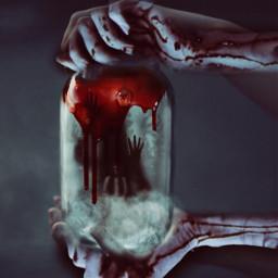 freetoedit scary jar drip trapped hands challenge ircanemptyjar anemptyjar