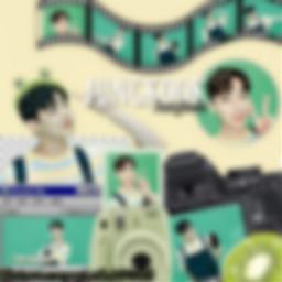freetoedit blur green greenaesthetic jungkook