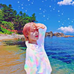 sunookim enhypen enhypensunoo engene sea sunooedit sunoocute babysunoo enhyoenbelift belift beachday sunshine rainbowcolors freetoedit local