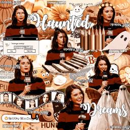 freetoedit ninadobrev thevampierdiaries nina dobrev actress halloween autumn fall