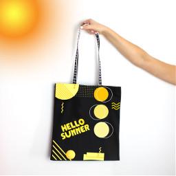 designabag challengeoftheday hellosummer yellow sun freetoedit picsart ircdesignthebag designthebag