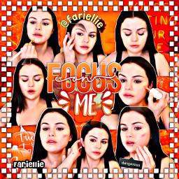 freetoedit arianagrande fariellie cute halloween dangerouswoman selenagomez autumn edit aestheticedit orange