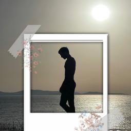 edit freetoedit picsart ircsunsetsilhouette sunsetsilhouette