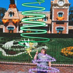 freetoedit purpleswirl disneyland tinkerbell peterpan srcpurplespiral purplespiral