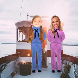 freetoedit serenamarable sophiegillian sailboat americannavy american sailors besties bestfriends bff serenaandsophie infp9w1 intp5w6 infpandintp