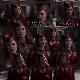 wanda wandamaximoff thescarlettwitch wandavision halloween marvel blendedit elizabetholsen vision blendedimages picsart edit freetoedit local