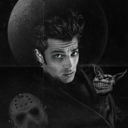 halloween2021 darkart darkside darkworld blackandwhite aesthetic artistic imagination photomanipulation creativity madewithpicsart makeawesome freetoedit local